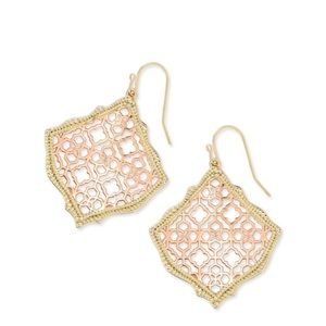 Gorgeous New Kendra Scott Filigree Earrings